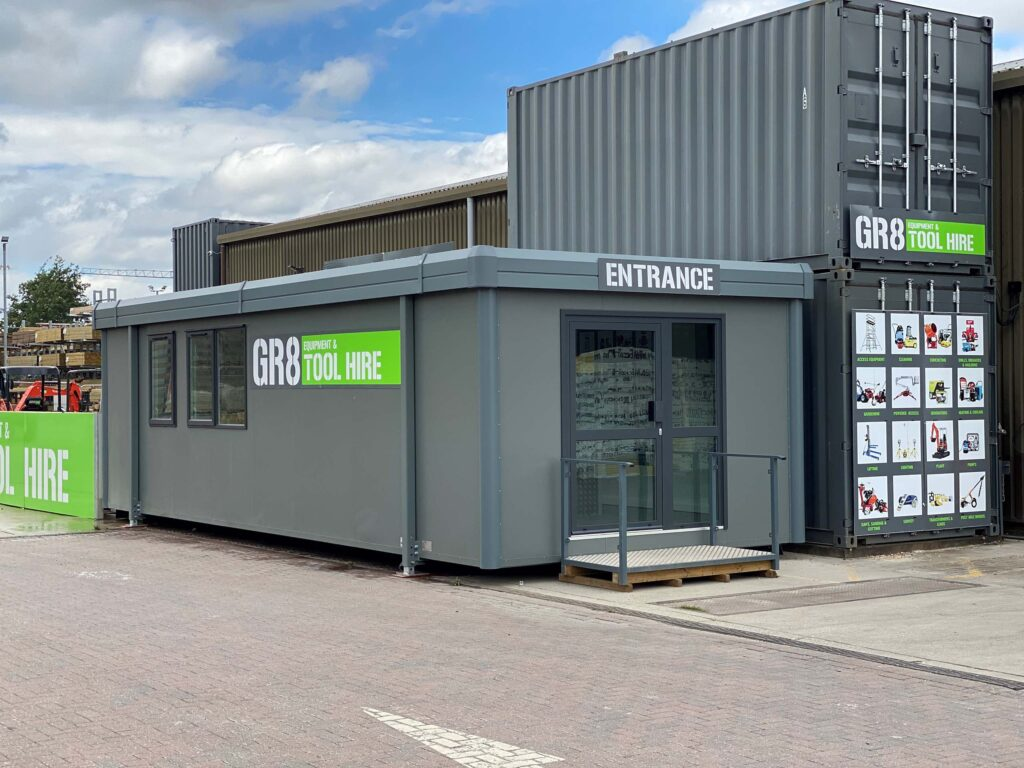 image of the GR8 Tool Hire New Office for the Cambridge branch